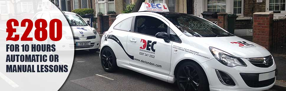 Special Driving Lessons Offer